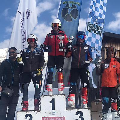 podio_Allievi_M_Trofeo Taz di Blue_Limone_18_02_2020
