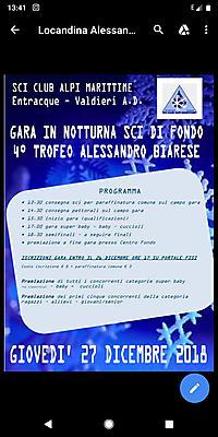 Fisi Aoc Calendario Gare.Fisi Aoc Sci Nordico Giovedi 27 Dicembre Ad Entracque