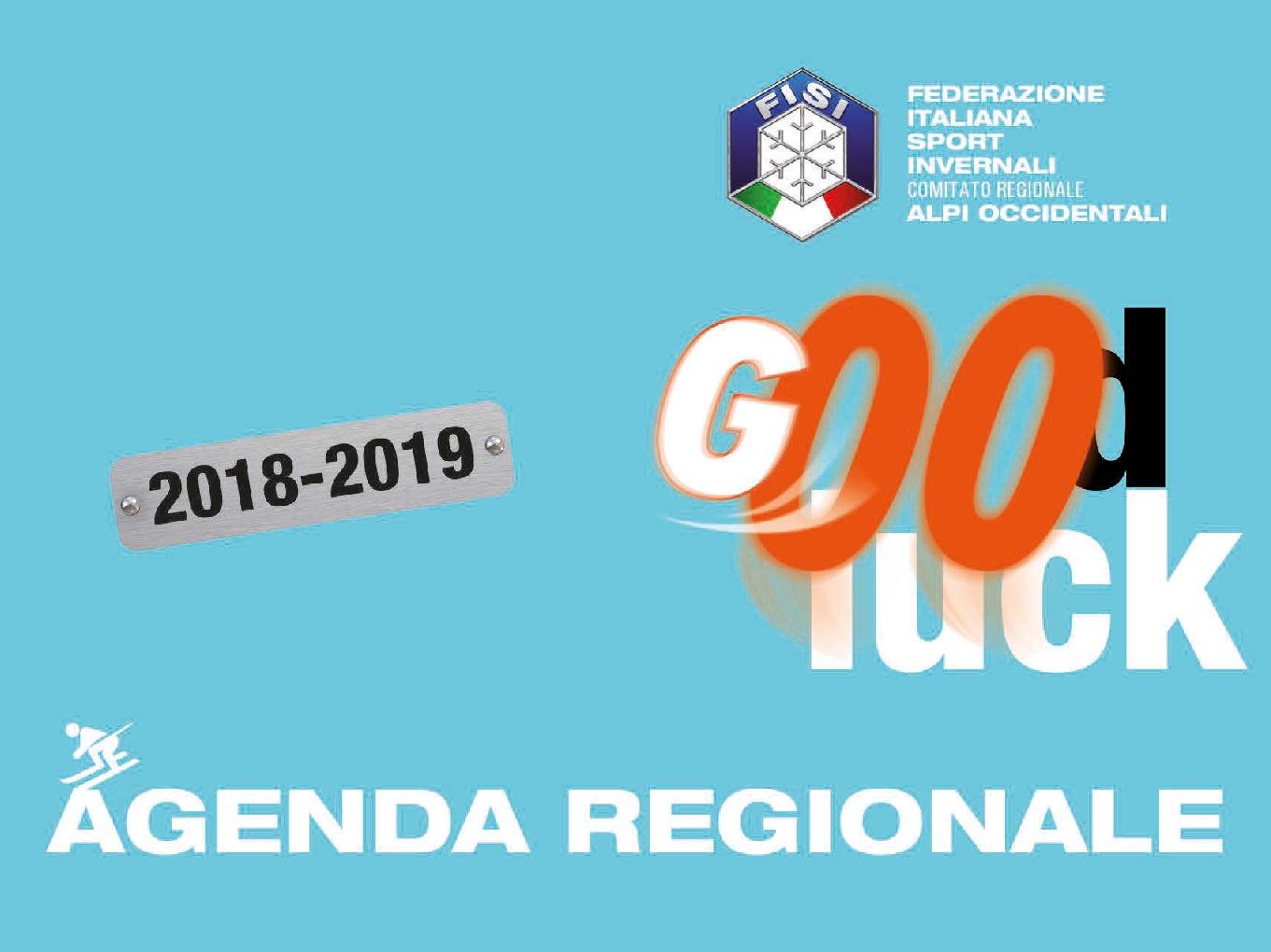 Fisi Aoc Calendario Gare.Fisi Aoc Pubblicata L Agenda Regionale Aoc 2018 2019